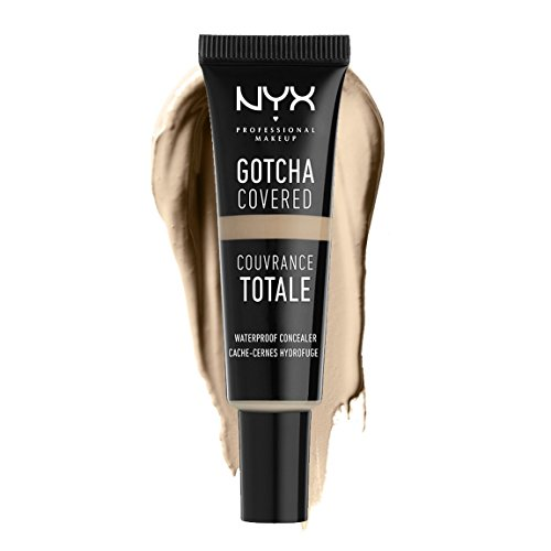 NYX PROFESSIONAL MAKEUP Gotcha Covered Concealer, Light, 0.27 Ounce