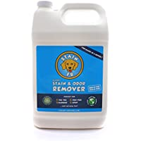 Pro Strength Carpet Odor & Stain Remover by Stain Fu - Works like Magic in a Bottle on tough urine feces vomit and even red wine too! (1 Gallon)
