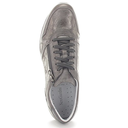 Nero Gris femme Graphite Sneakers Basses qqfxw7O