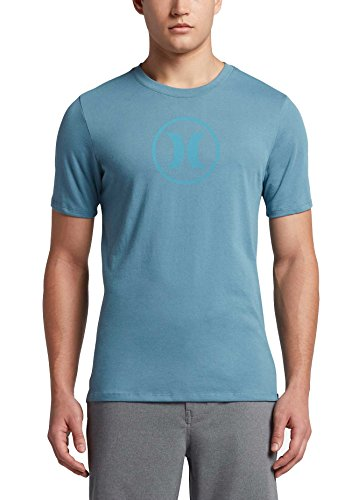 Hurley Circle Icon Dri-Fit T-Shirt - Smokey Blue - L
