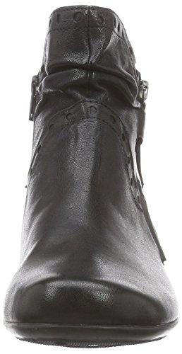 Gabor Comfort Basic - zapatos de tacón cerrados de material sintético mujer Negro (micro 27)