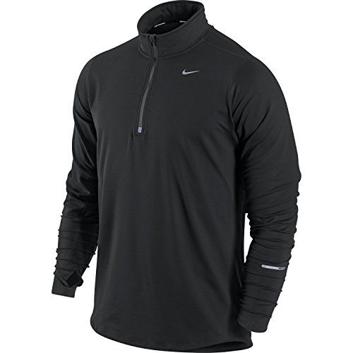 Nike Mens Element 1/4 Zip Running Top Shirt