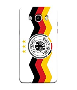 ColorKing Football Germany 26 White shell case cover for Samsung J5 2016