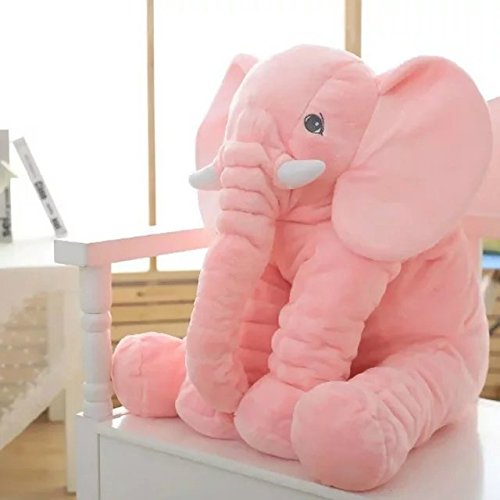 Cute Baby Animal Elephant Plush Doll Stuffed Plush Pillow for Children Room Bed Decoration Toys,Perfect for 1-10 Years Baby Kids Toddlers