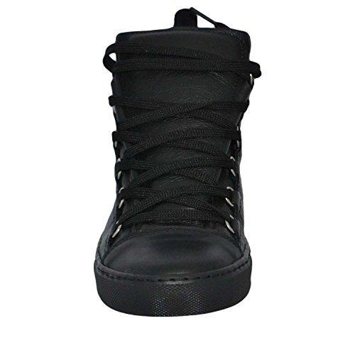 in Scarpe Alta Made Italy Pelle Nera Stringata Uomo Shoes Sneakers Men OYw4PqU6xW