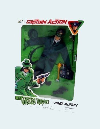 The Green Hornet Mask (Captain Action Green Hornet Uniform and Equipment Set)