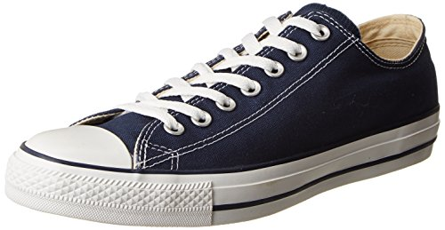 Converse Unisex Chuck Taylor All Star Low Top Navy Sneakers - 9.5 US Men/11.5 US Women