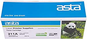 Asta Compatible Toner Cartridge For Hp-cf211a 131a, Cyan [hp-cf211a(131a)]