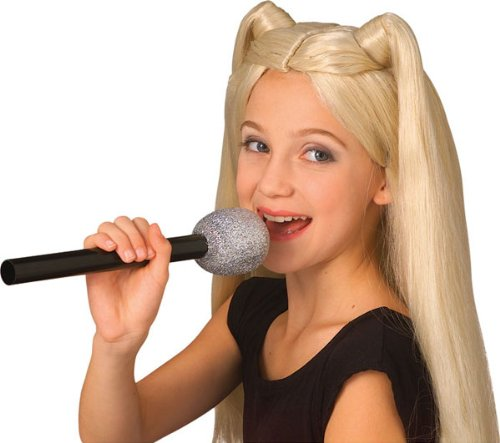 Rubie's Novelty Glitter Microphone