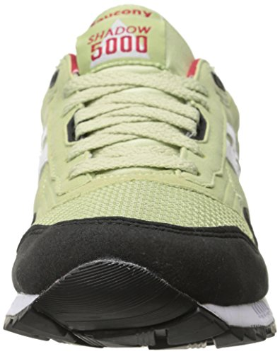 Saucony Originelen Heren Shadow 5000 Classic Retro Sneaker Lichtgroen / Zwart