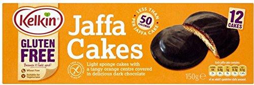 Kelkin Gluten Free Jaffa Cakes (150g) - Pack of 2 ()
