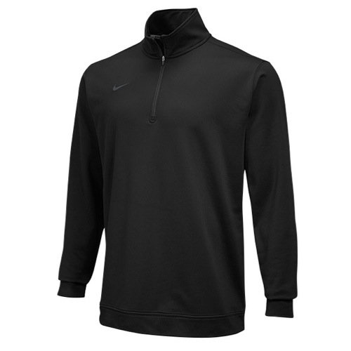 Nike Dri-Fit 1/2 Zip - Black - Medium