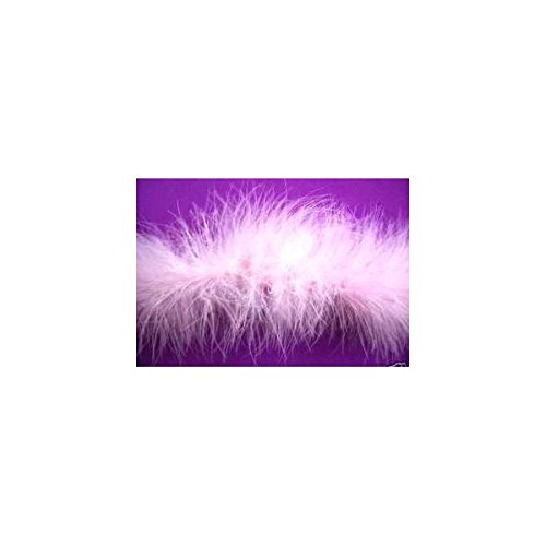 (2 Yds Wrights Feather Marabou Boa Light Pink 1.5 Inch)