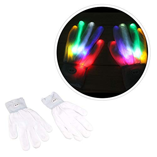 Balai Adult Light Gloves Finger Light Flashing LED