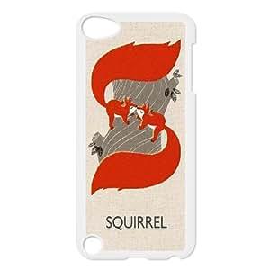 Unique Phone Case Design 20Animal Squirrel- FOR Ipod Touch 5