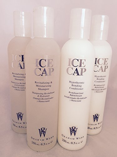- Ice Cap Shampoo and Conditioner by Graham Webb 8.5 oz each - 2 Sets