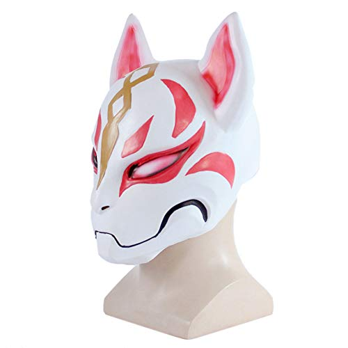 Fox mask Cospaly Suitable for game fans Halloween Christmas Party Mystery Mask