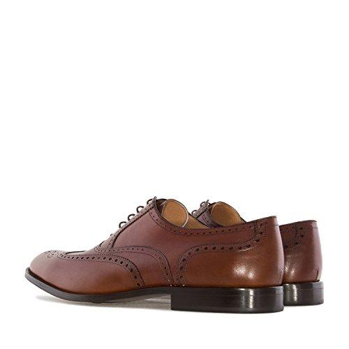 Andres Machado.6031.mens Oxford Skor I Leather.made I Spain.mens Stora Storlekar: Us M13 Till M16 Mahognyläder