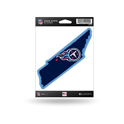 (Rico Industries NFL Tennessee Titans Home State Sticker)
