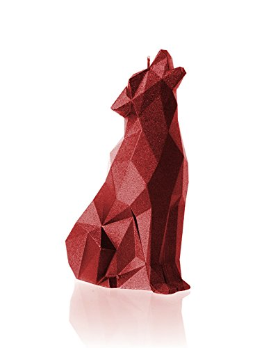 (Candellana Candles Wolf, Red)