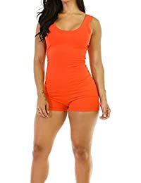 Amazon.com: Orange - Jumpsuits & Rompers / Jumpsuits, Rompers ...