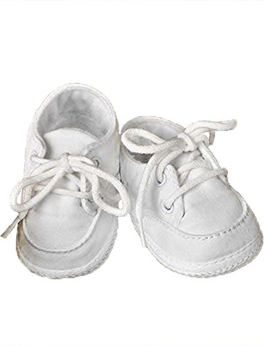 Poly-Cotton Oxford Christening Baptism Shoes-4