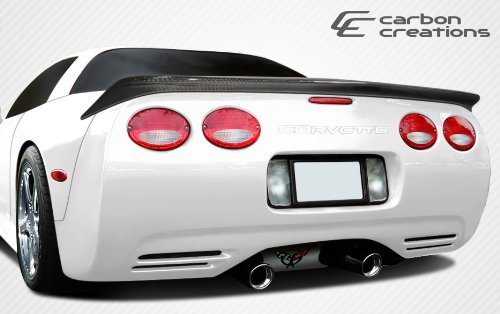 C5 Corvette Rear Spoiler (1997-2004 Chevrolet Corvette C5 Carbon Creations AC Edition Rear Wing Trunk Lid Spoiler - 1 Piece)