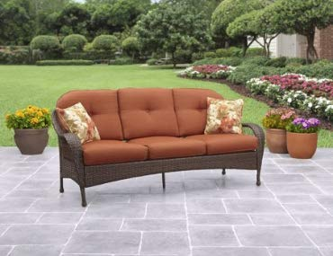 Better Homes and Gardens Azalea Ridge Outdoor Sofa, Seats 3 (Gardens Home Furniture And Better Patio)