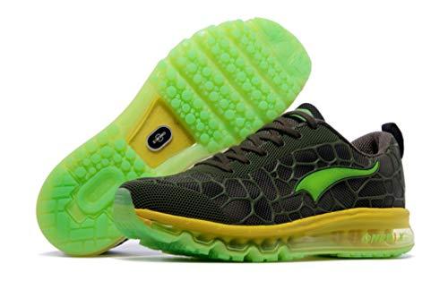 Zapatillas Unisex competición Running Adultos Green Dilize de Dark Yellow de OneMix aR5wTaAnqH