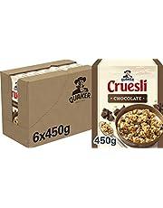 Quaker Cruesli Chocolade, Doos 6 stuks x 450 g