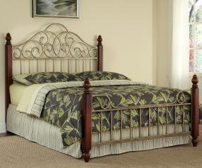 (Home Styles 5051-600 St. Ives Bed, King)