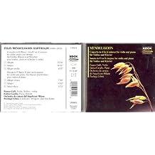 Concerto for Violin & Piano in D by Mendelssohn