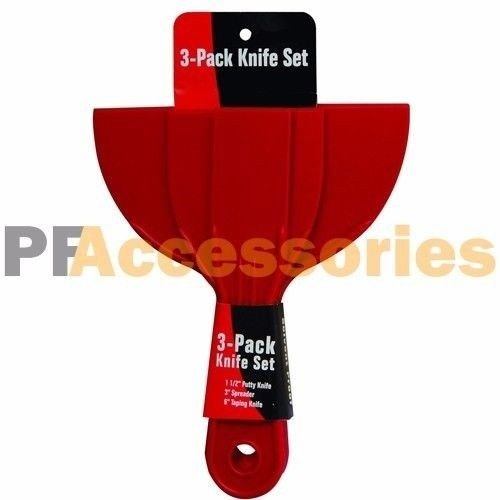Glass Devil Sanding Tool (3 Pcs Plastic 1.5