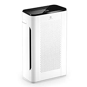 Airthereal 7-in-1 Ture HEPA Filter Air Purifier For Allergies and Pets, Pure Morning APH260 Odor Eliminator Air Cleaner for Home, Large Room, Dust, Pollen and Smokes, 152+ CFM, 355 sf