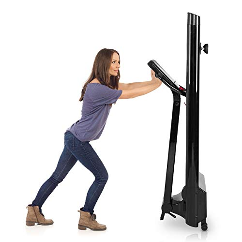 Goplus 1.5HP Electric Folding Treadmill Portable Motorized Running Machine Home Gym Cardio Fitness w/App (Black) by Goplus (Image #3)