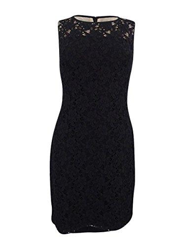 (Lauren Ralph Lauren Women's Lace Sheath Dress (6, Black))
