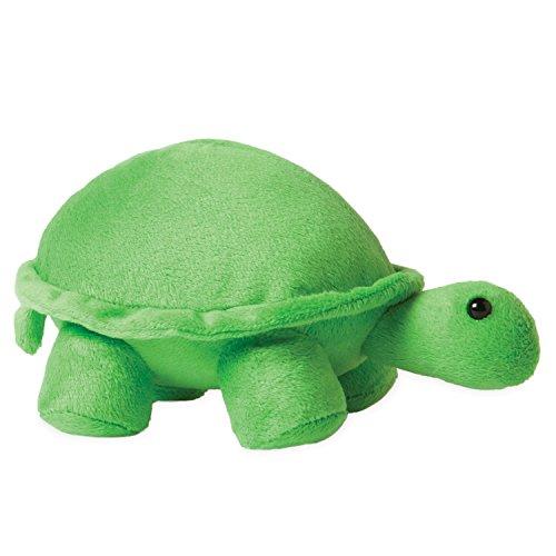 "Manhattan Toy Jellybeans Leaf Turtle Plush, 4.5"""