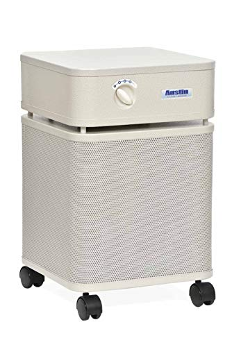 (Austin Air B405A1 Allergy Machine Air Purifier, Medical Grade HEPA Filter, Clinically Proven for Asthma Relief, Removes Allergens, Dust, Pollen, and Mold, Sandstone)