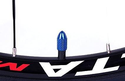 2pcs Aluminum Bicycle Tire Valve Cap Ultralight Mountain Road Bike Tyre Cap