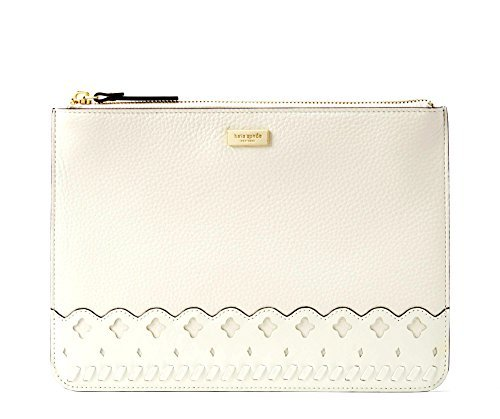 Kate Spade Marcus Street Gia Women's Leather phone card case holder Clutch (Cement)