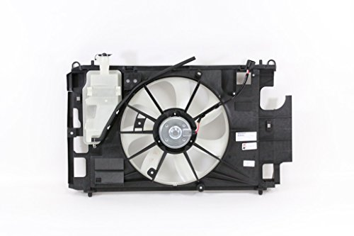 Dual Radiator and Condenser Fan Assembly - Cooling Direct For/Fit TO3115180 12-15 Toyota Prius-C (TO 9-15-2015)