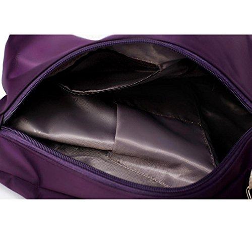 mujeres de Internet bolsas señoras las bolso Púrpura Conjunto de Bolso monedero de las cYRw1UqF