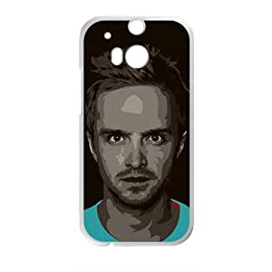 HTC One M8 Phone Case Nupro Lightweight Protective Snap-on Case Jesse Pinkman on Breaking Bad