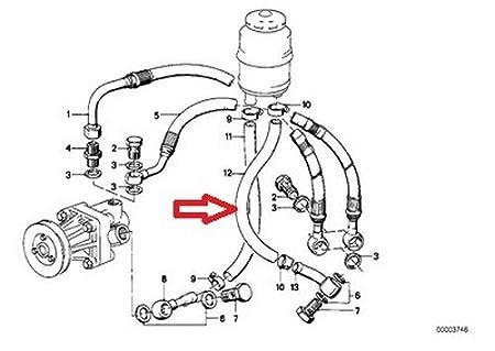 Crankcase Return Pipe Early N52 E90 325i 330i E60 525i 530i Z4 Bmw
