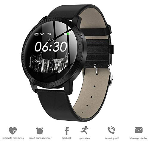 TIAOTIAO Fitness Tracker, IP68 Waterproof Activity Tracker with Pedometer Step Counter Watch and Sleep Monitor Calorie Counter Watch, Slim Intelligent Watch forWomen,Black (Chip Via Ram Set)