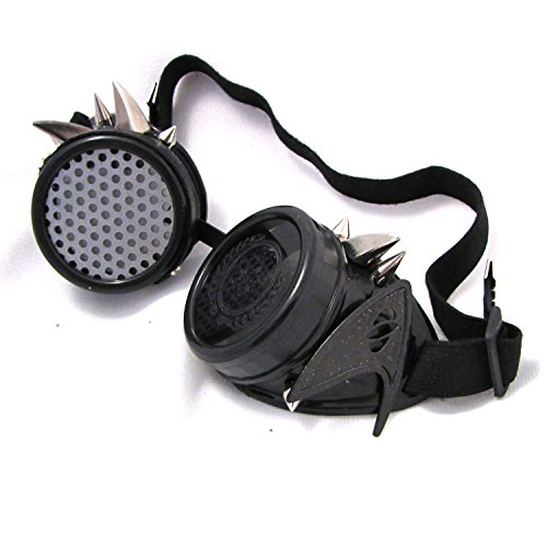 [Locutus Borg STNG Steampunk Goggles Halloween Costume Cosplay] (Halloween Goggles)