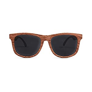FCTRY - Baby Opticals, Wood Finish Polarized Sunglasses, Ages 0-2