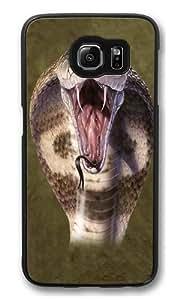 Cobra Snake Polycarbonate Hard Case Cover for Samsung S6/Samsung Galaxy S6 Black