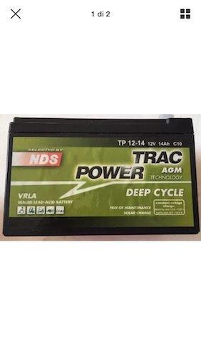 NDS Patinete Eléctrico batería 12 V 12 Ah Deep Cycle: Amazon ...