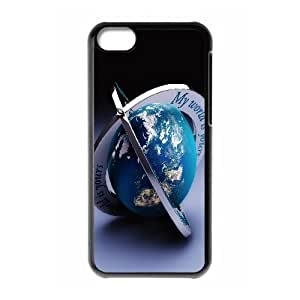Iphone 5C Case, my world 2 Case for Iphone 5C Black